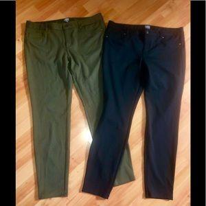 🌻TWO Soho NY&CO Stretchy Jeans 🌻